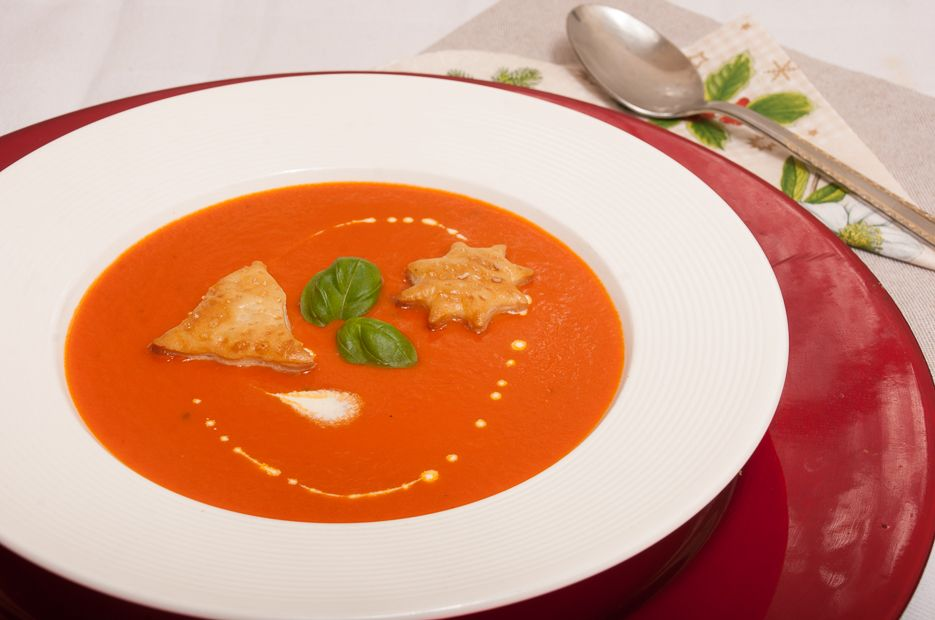 Tomaten-crèmesoep - Keukenliefde !