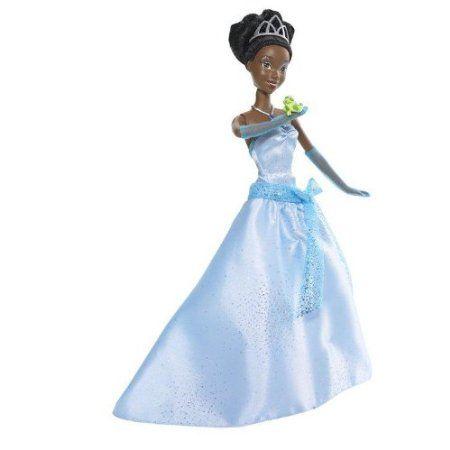 Disney Just One Kiss Tiana Doll