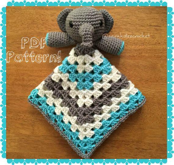 Crochet Elephant Lovey Pattern Basic Crochet Stitches Blanket Best Crochet Elephant Lovey Pattern