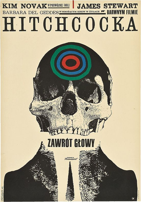 Polish poster for Hitchcocku0027s Vertigo Of course it has absolutely - poster für die küche