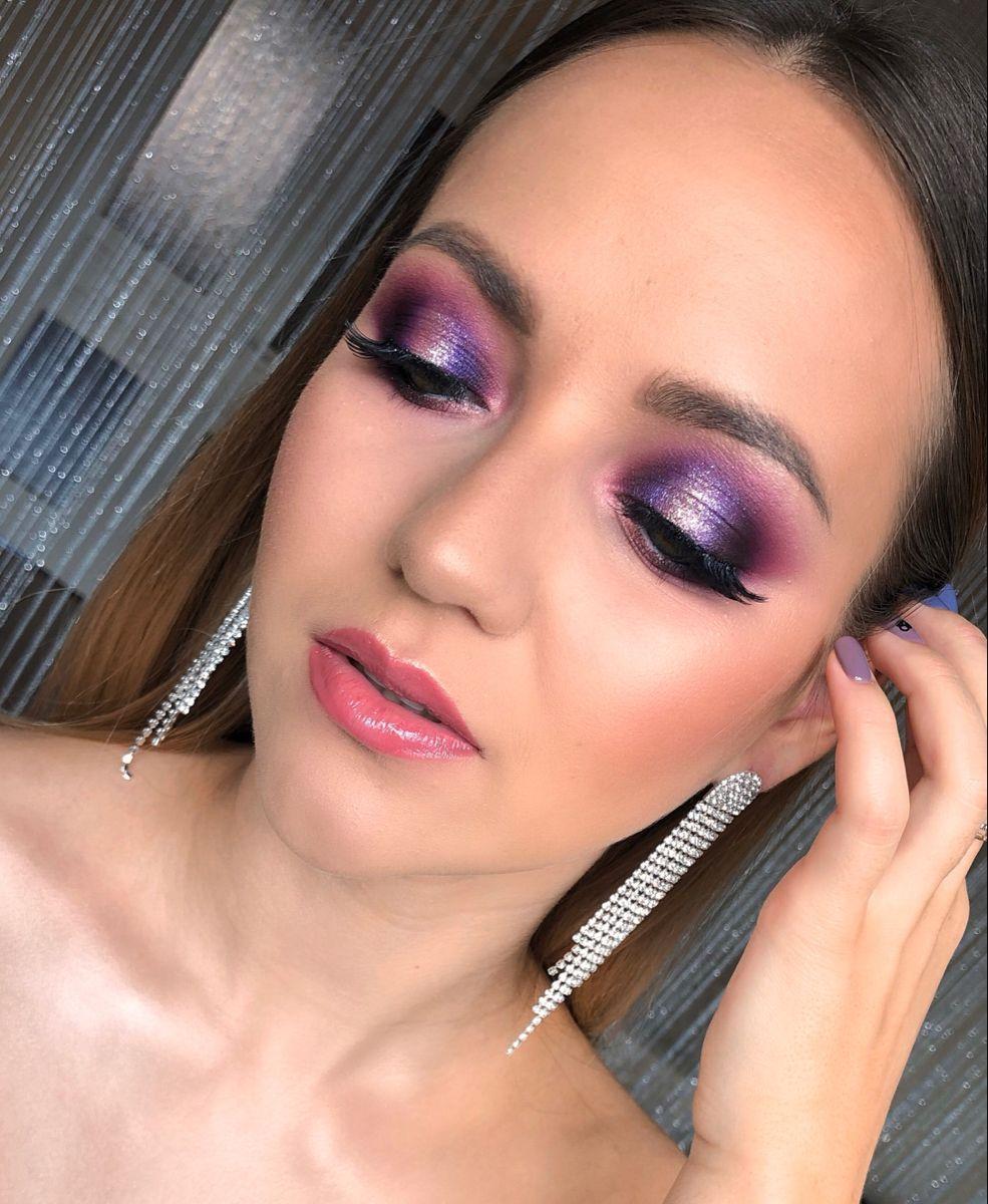 Вечерний макияж, новогодний макияж Highlighter makeup