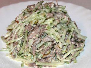 салат из говядины рецепт с фото