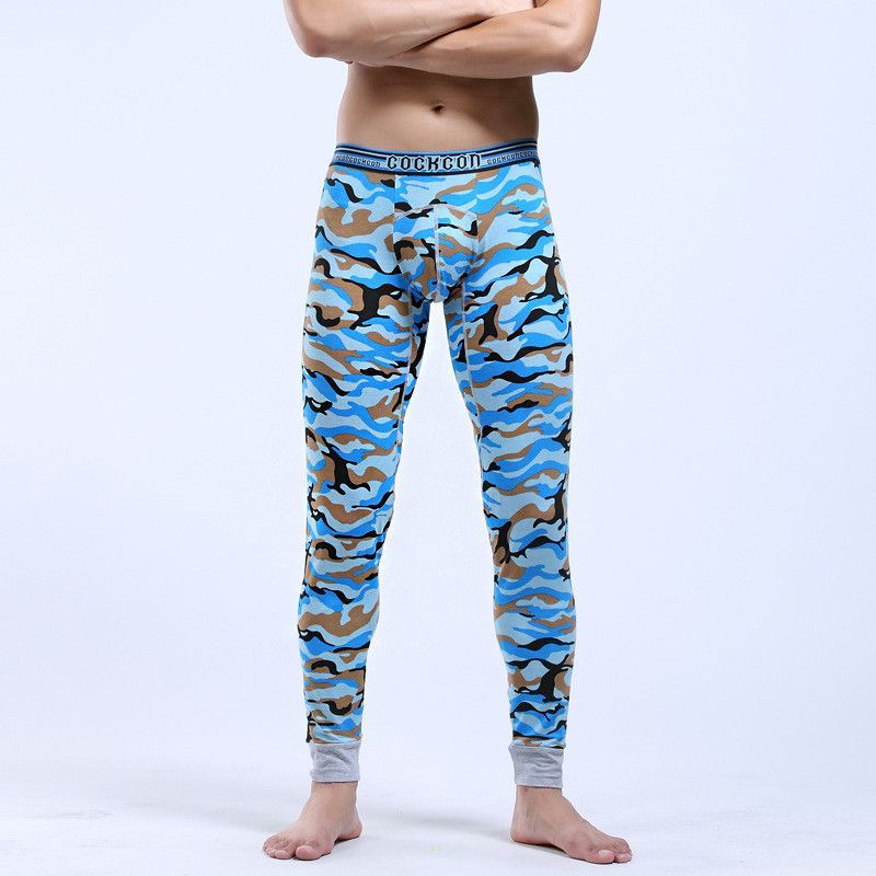 06af823fe2dc winter men long johns army style camouflage print Thermal Underwear sexy cotton  long johns warm underpants legging tight