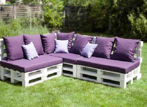 Paletten Möbel Polster   Sommer auf meiner Terrasse   Pinterest ...