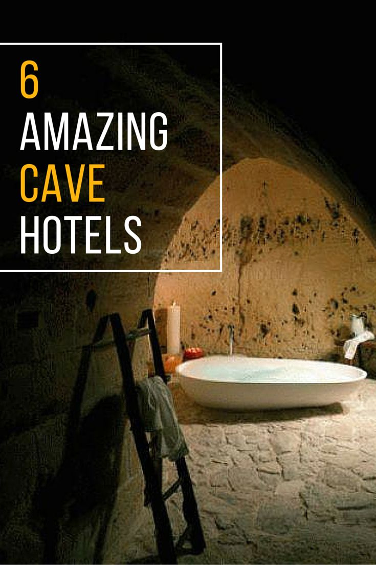 Want a taste of prehistoric living? Check out (and check in) to some of the world's best underground and cave hotels.