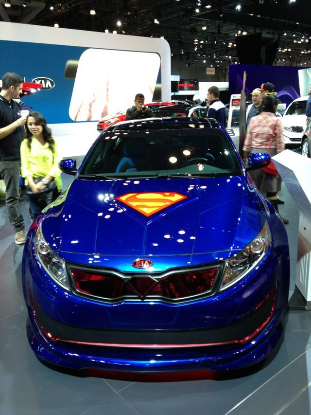 DC Comics and Kia Team Up to Create Superhero-Themed Cars