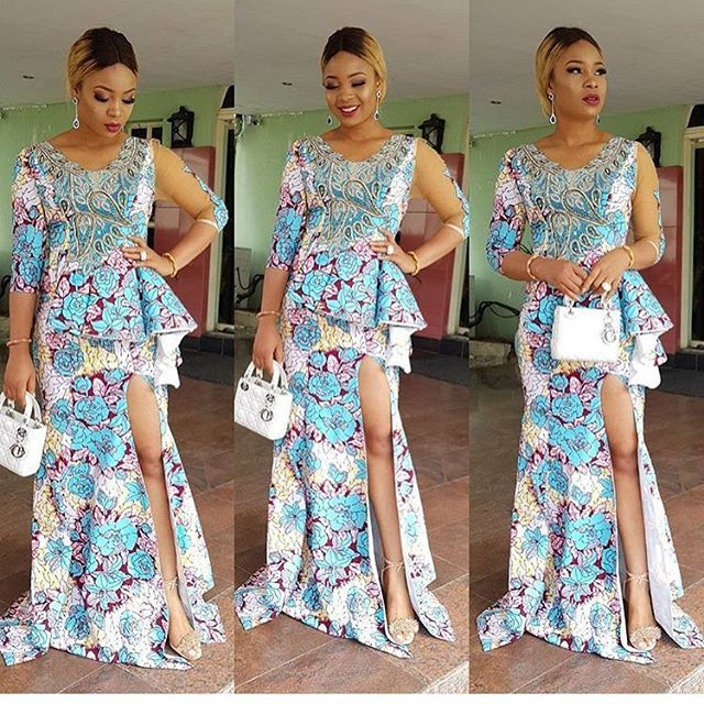 Ankara Long Gowns : Beautiful Styles For Beautiful Ladies - DeZango ...