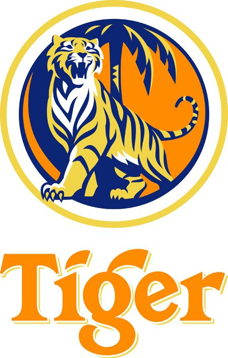 malaysia tiger beer logo looks a lot like an lsu anything rh pinterest com Tiger Tattoo Meaning Auburn Tigers Wallpaper
