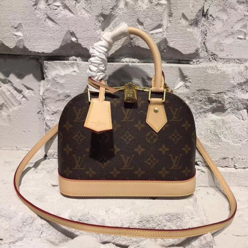 f50b3f841e69 Louis Vuitton Alma BB Monogram Canvas M53152  AlmaBB