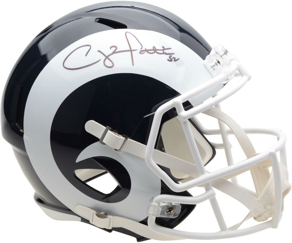 Details about clay matthews los angeles rams autographed