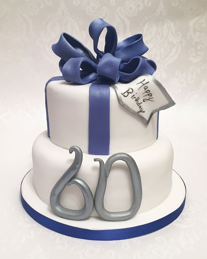 www.lifeissweetcakes.co.uk Male 60th birthday cake for