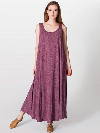 A-Line Maxi Dress - cotton - made in USA | Vegan Dresses - labor ...