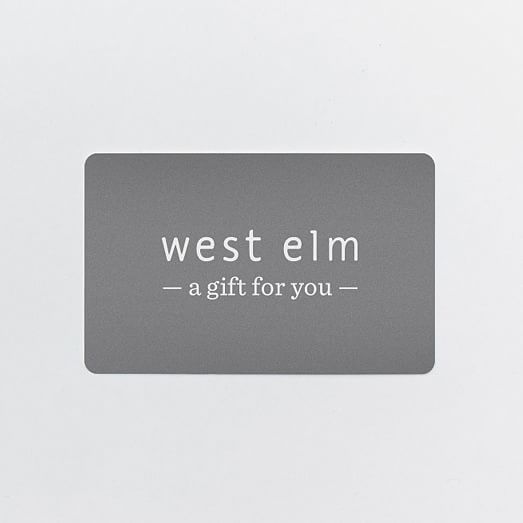 West Elm Gift Card Gift Card Gift Envelope Gifts