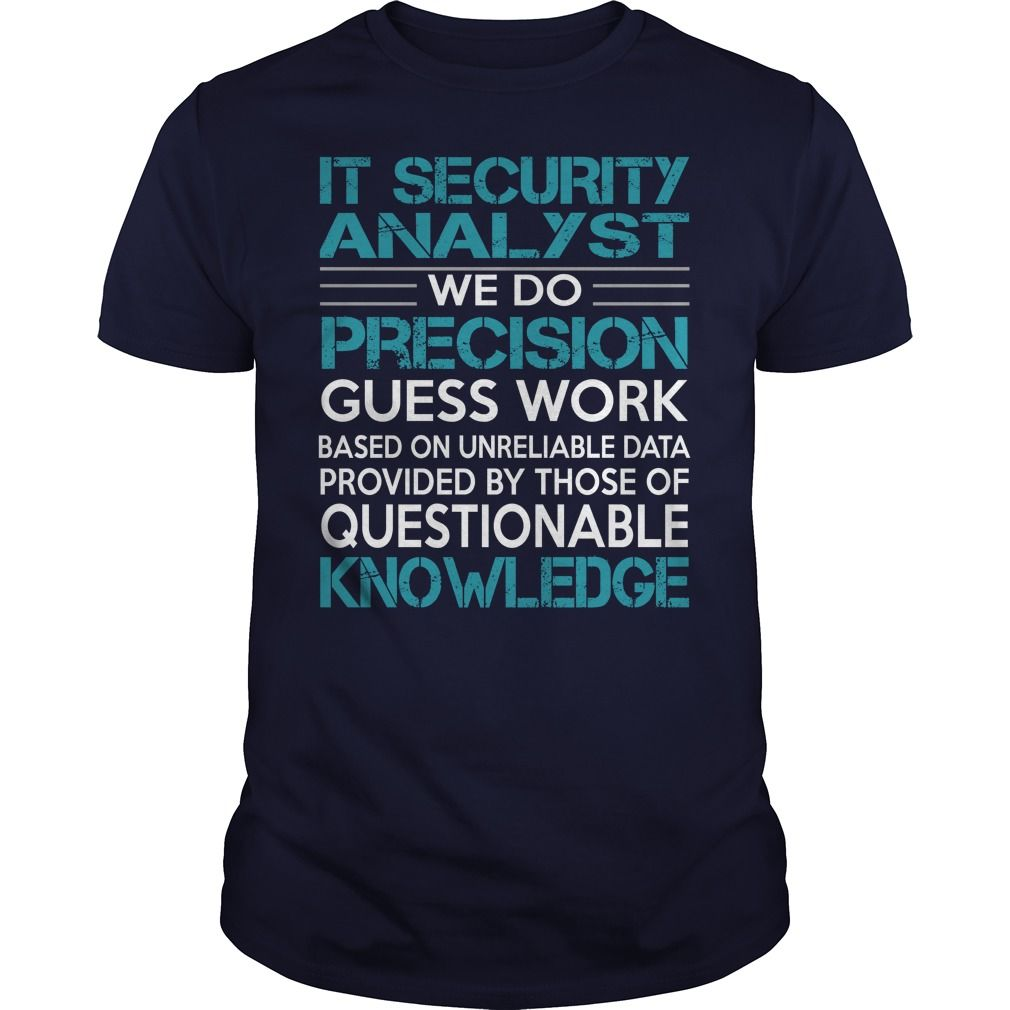 Awesome Tee For It Security Analyst T-Shirts, Hoodies. Get It Now ==►…