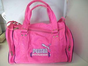 79147d2c41c My pink Puma schoolbag / holdall from the 80s everyone had one....except me!