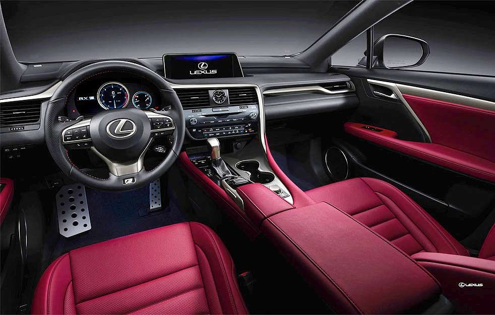 2019 Lexus Rx 350 F Sport Features Engine Specs And Performance Lexus Rx 350 Lexus Suv Lexus Interior