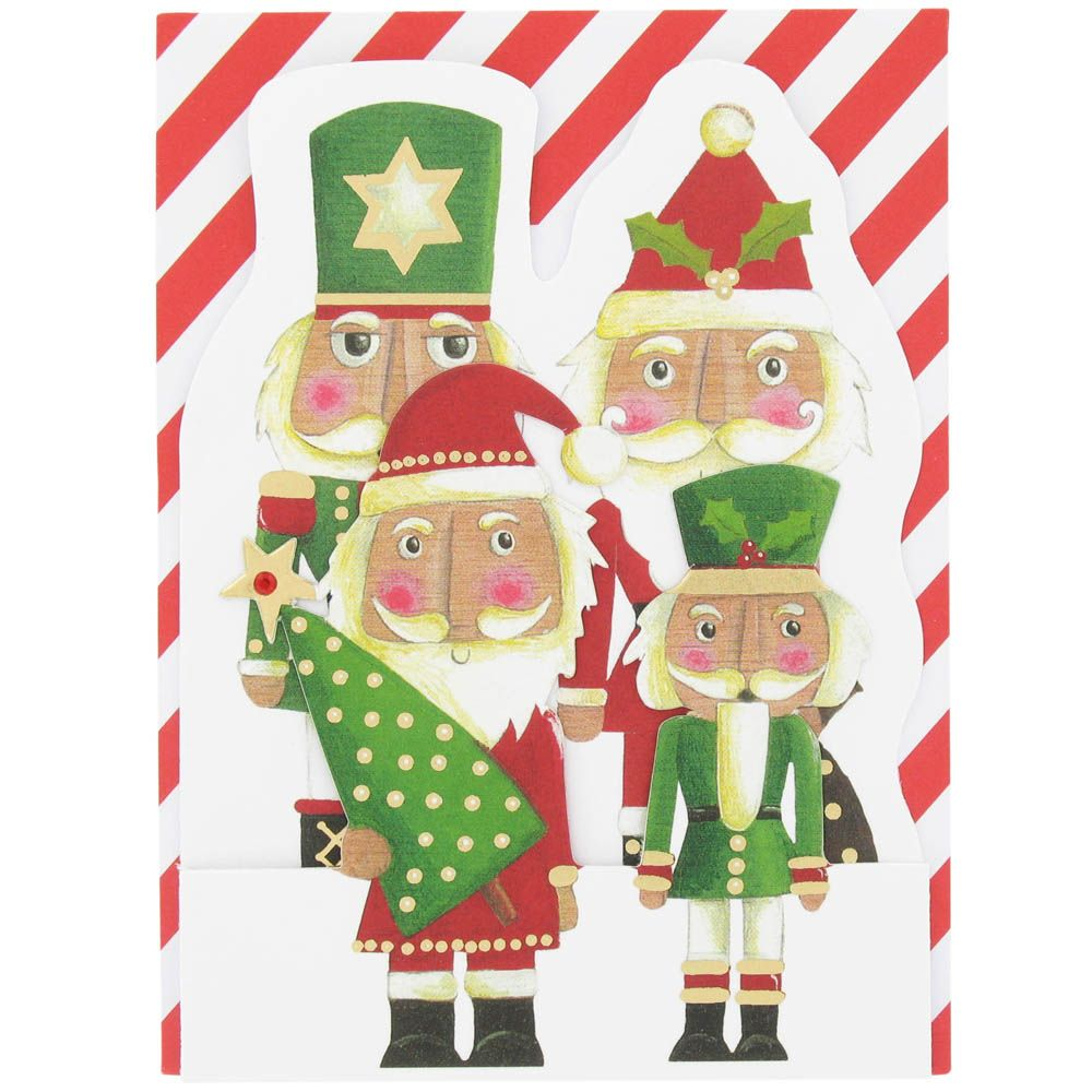 in with the new nutcracker Christmas card from Paperchase ...