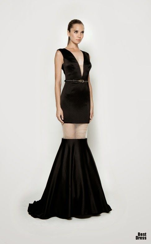 Vestidos elegantes largos para damas