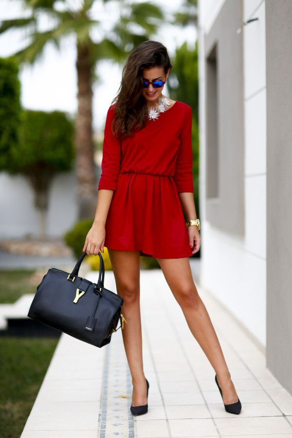 f63a956d00 Red Dresses Your Winning Fashion Combination For Christmas Night ...