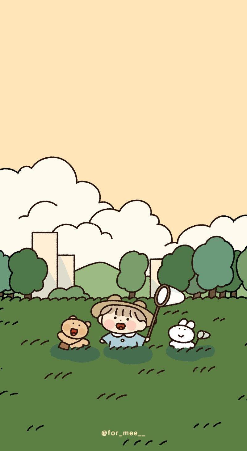 September Iphone Ipad Galaxy Wallpapers Naver Blog Wallpaper Iphone Cute Cute Anime Wallpaper Cute Cartoon Wallpapers