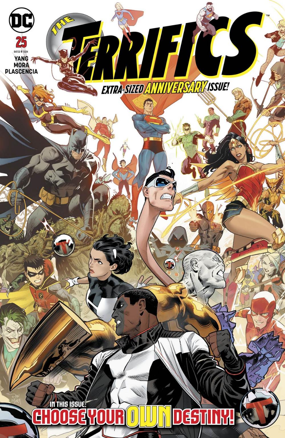 Read The Terrifics 2018 Issue 25 Page 1 Online Comicpunch Net In 2020 Comics Dc Comic Books Comic Book List