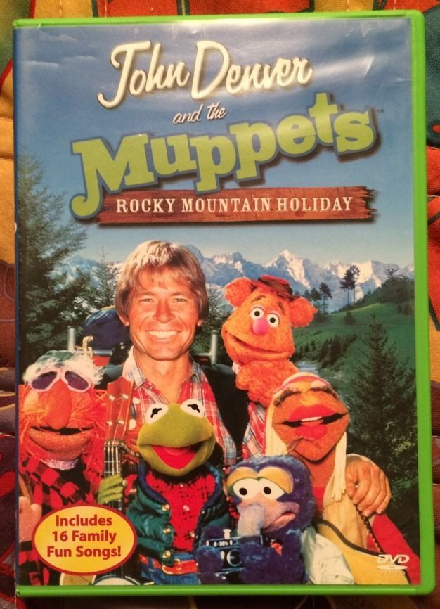 John Denver and The Muppets - A Rocky Mountain Holiday (DVD, 2003 ...