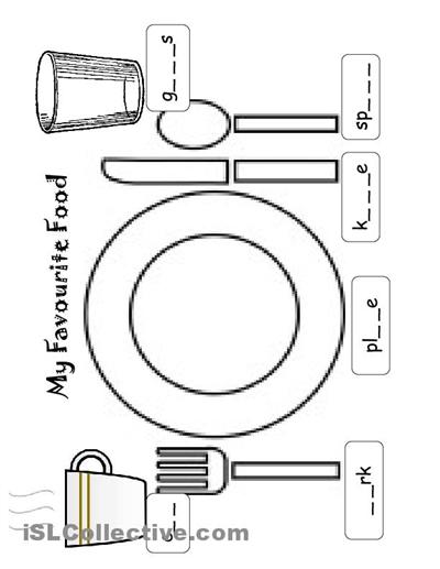 utensils a berry specialclass pinterest utensils worksheets and kindergarten. Black Bedroom Furniture Sets. Home Design Ideas