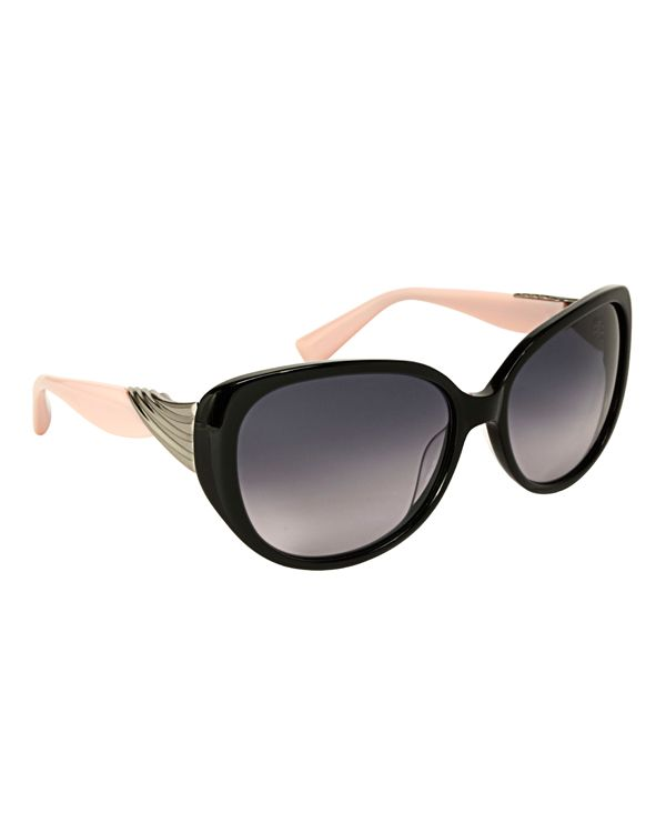 Badgley Mischka Sabine Large Cat Eye Sunglasses
