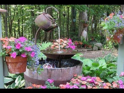 Springbrunnen selber bauen   Springbrunnen selber machen   im