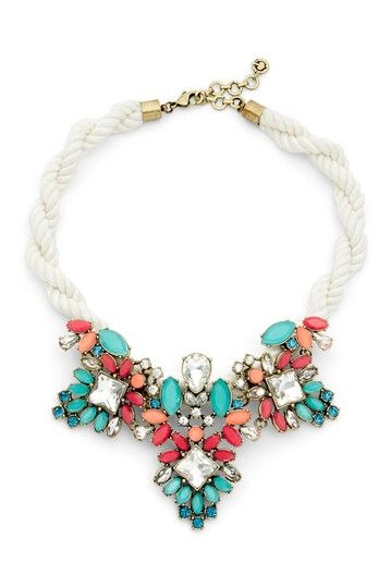 Jeweled Rope Necklace by C. Wonder on @HauteLook