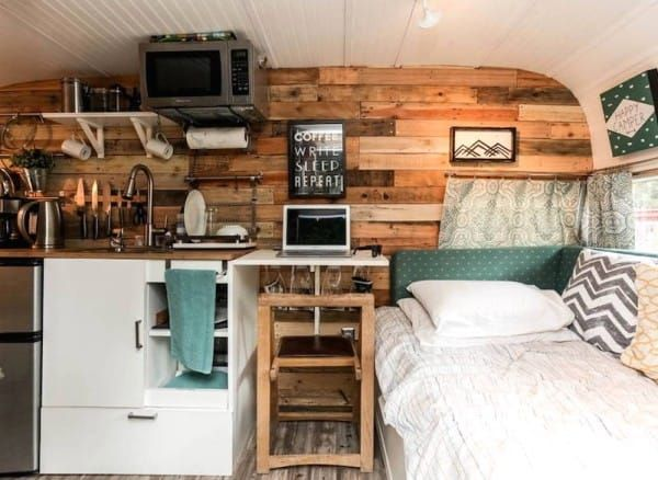 1962 Vintage Camper In Austin Is Transformed Into A Vibrant Cozy Motel