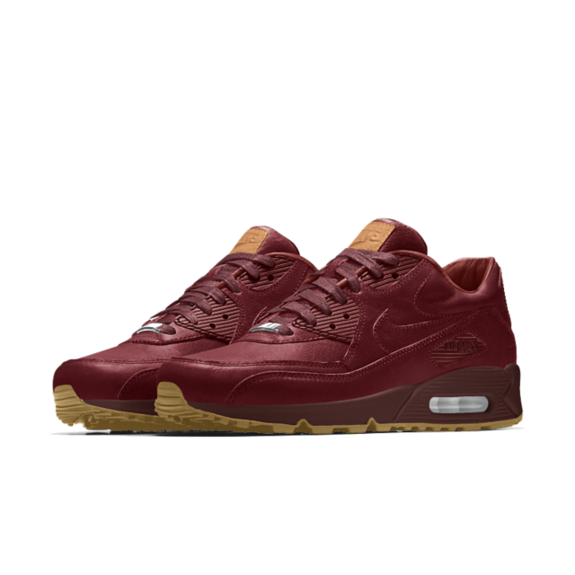 Nike Air Max 90 Premium Will Leather Goods iD Shoe | Sick