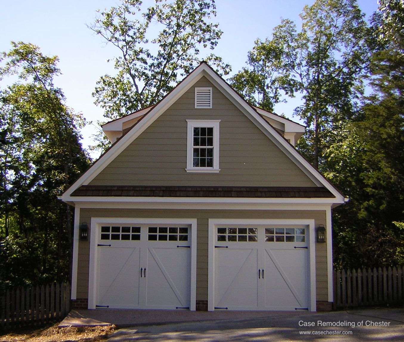 Affordable Garage Apartment 2236sl: Case Chester Carriage House