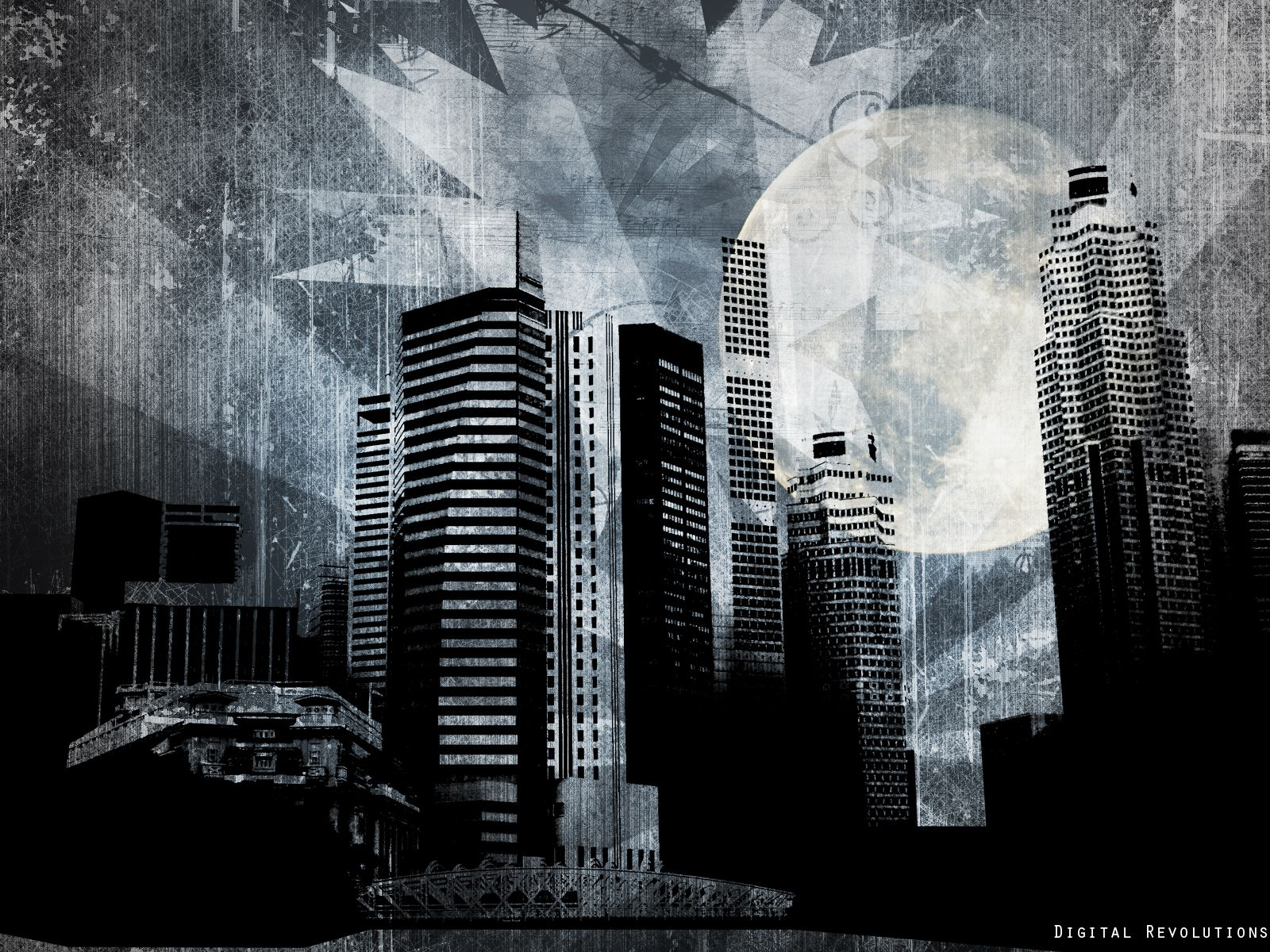 Abstract City Wallpapers Widescreen