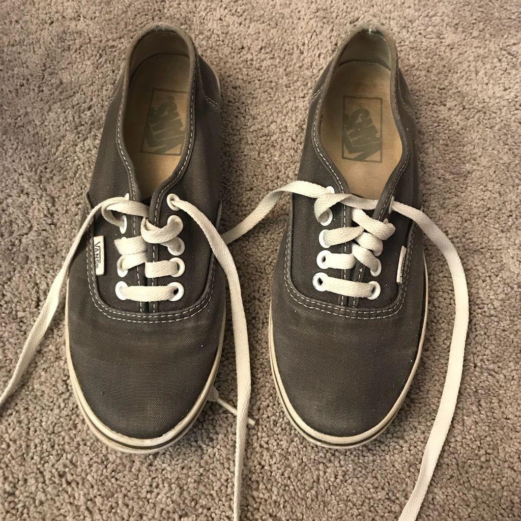 vans trainers size 6