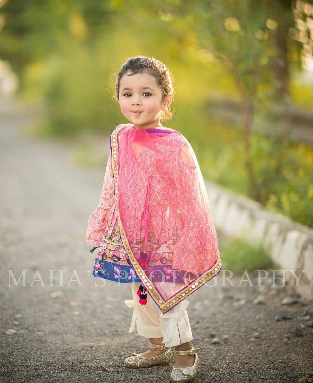Baby Girl Dresses For Pakistani Wedding Saddha