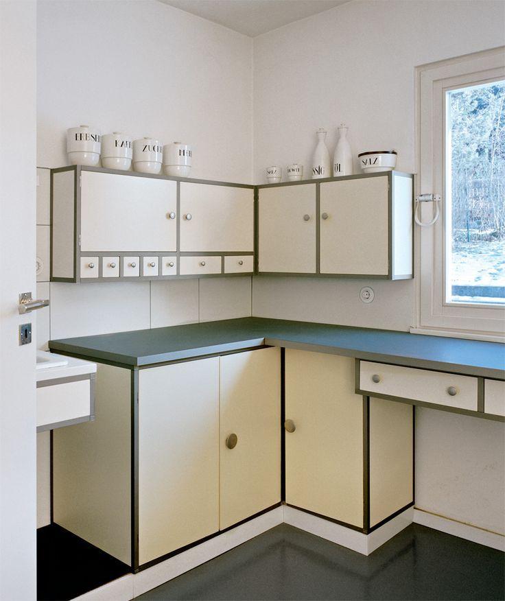 // Muche, 1923 Bauhaus interior, Kitchen interior
