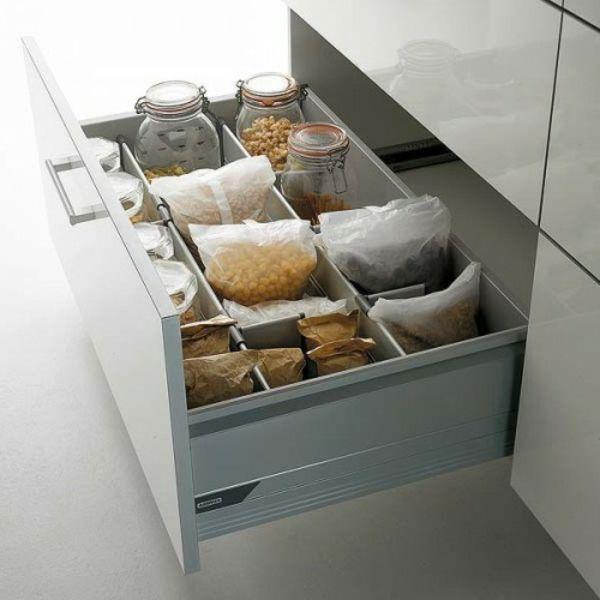 53 praktische Ideen für die Organization der Küchenschubladen - http ...