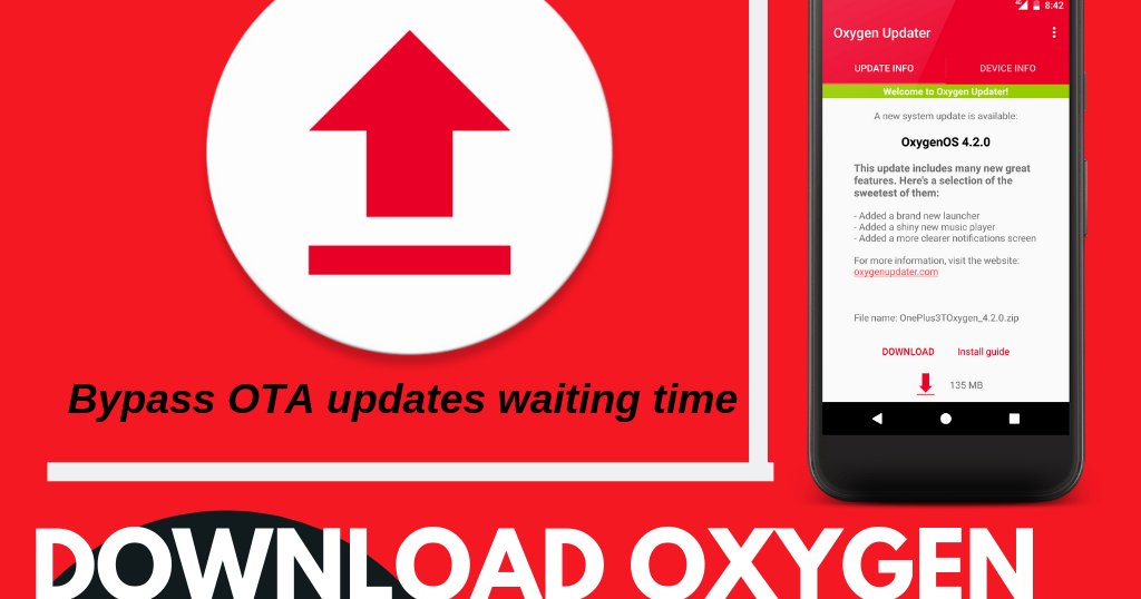 DOWNLOAD OXYGEN UPDATER APP: BE THE FIRST TO UPDATE YOUR
