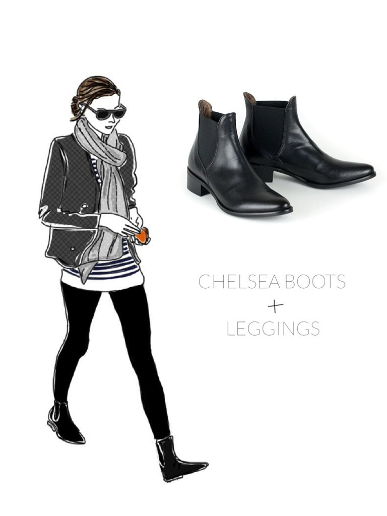 Chelsea boots, also known as Jodhpur bootsor Paddock boots are close-fitting, ankle-high boots. The most notable features are the elastic side panel and a tab on the back of the boot, making it si…