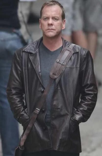 Jack Bauer 24 Season 8 Jacket | Leathers Club | Brown
