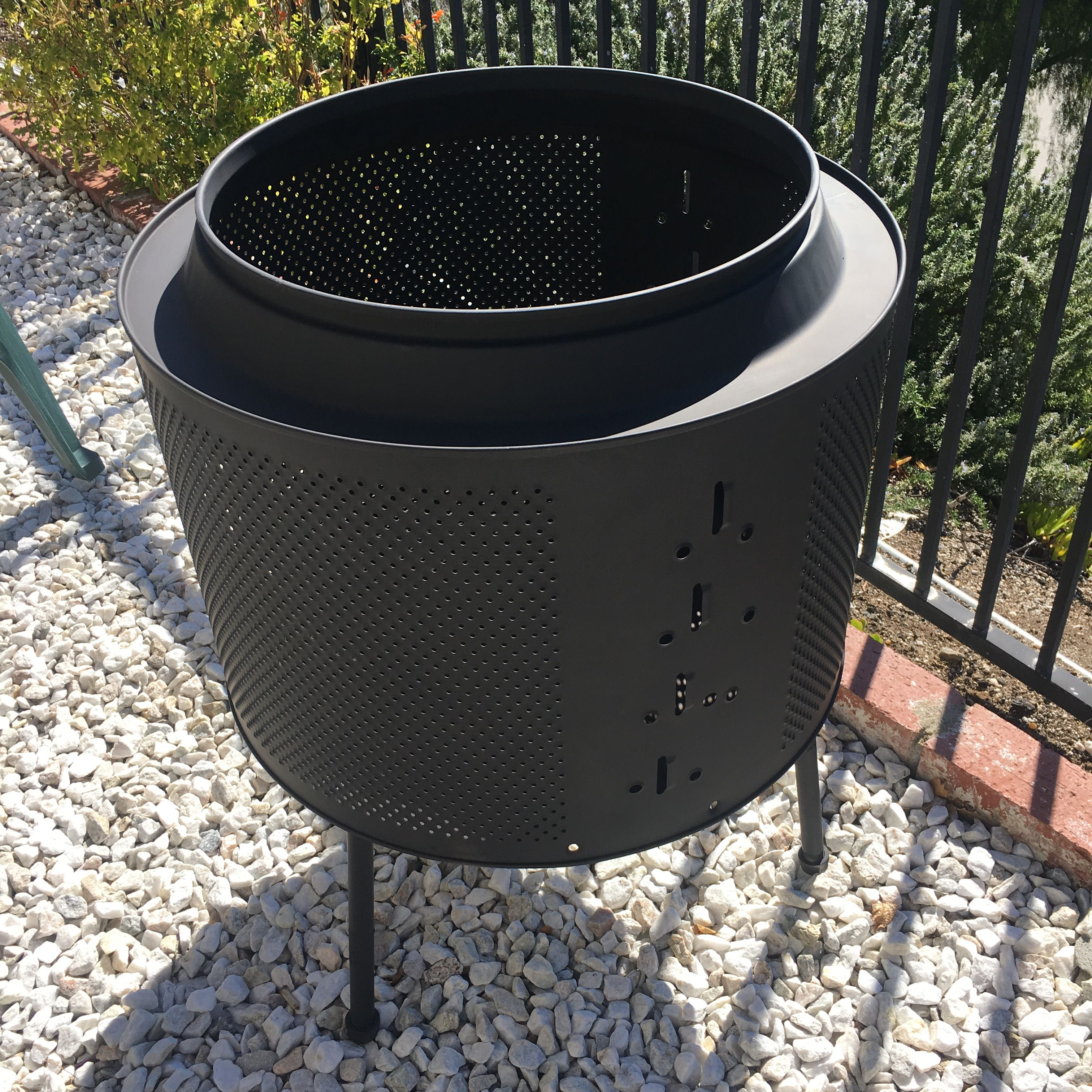 Dryer Drum Fire Pit In 2019 Diy Fire Pit Fire Diy