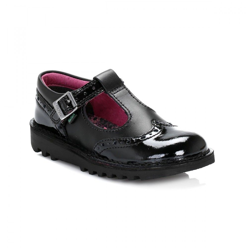 000ca6912a810 Kickers Junior Black Kick T Broge Shoes. Find this Pin and more on Kids