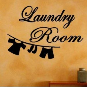 Laundry Room Vinyl Wall Art Sticker Quotes Home Decor Graphic Decal Free Glowindark Switchplate Decal Sticker Wall Art Home Quotes And Sayings Room Stickers