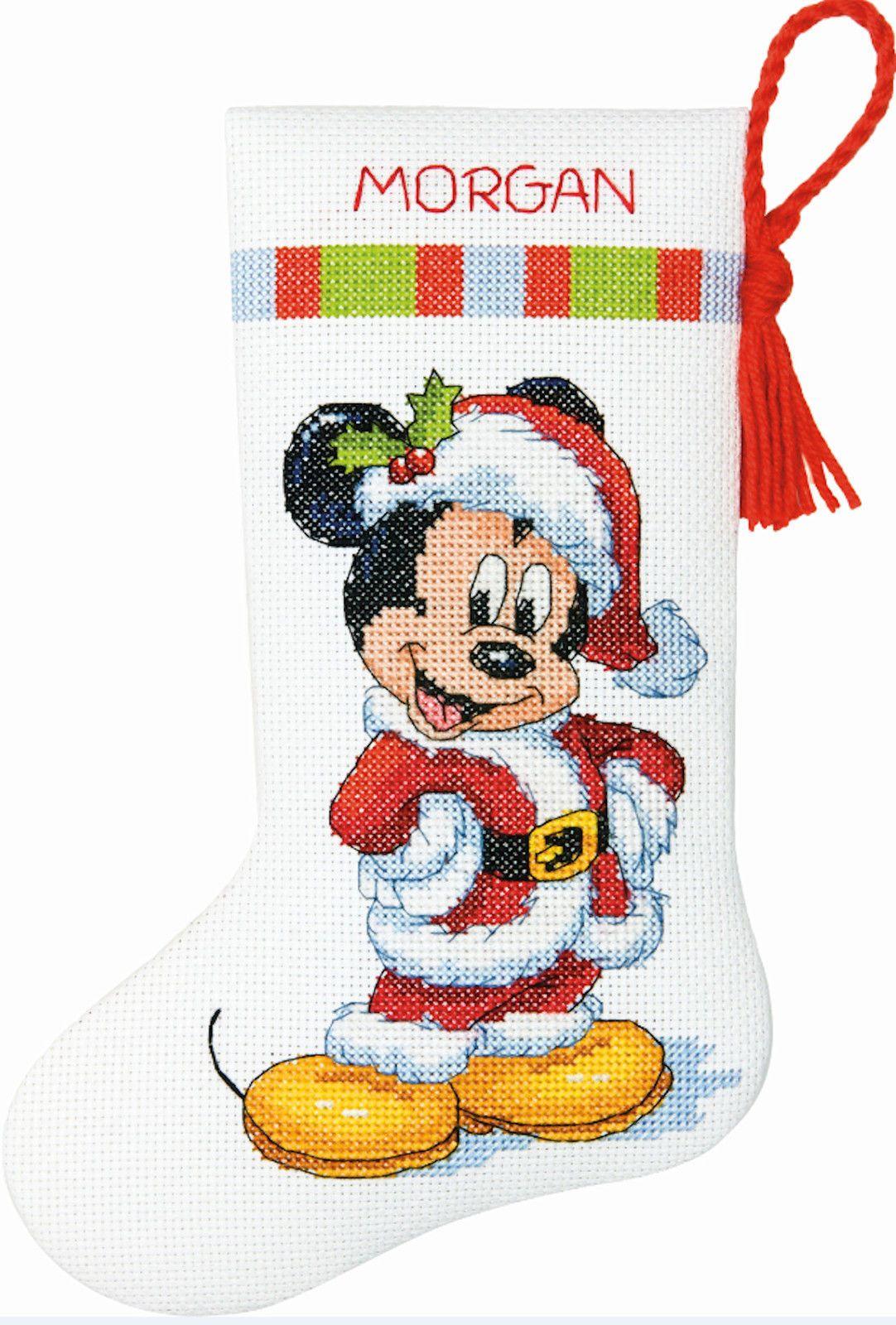 disney cross stitch christmas stocking patterns