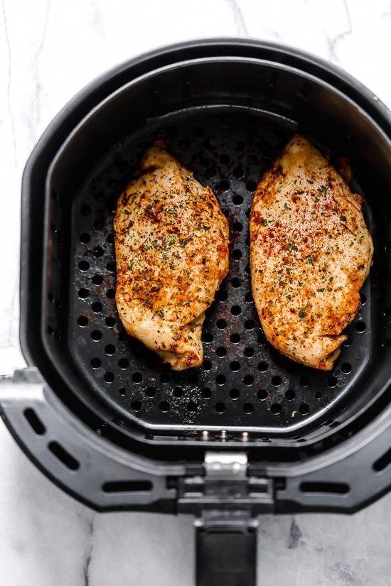 Perfekte Air Fryer Hühnerbrust – kein Panieren!  – Air fry