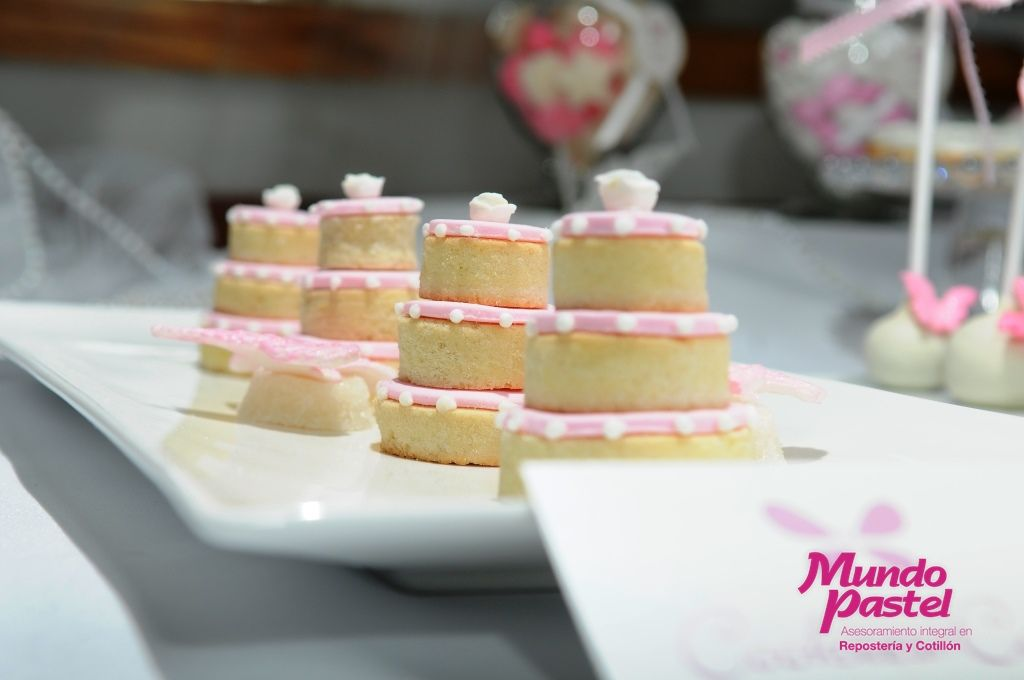 Mini tortas con galletitas