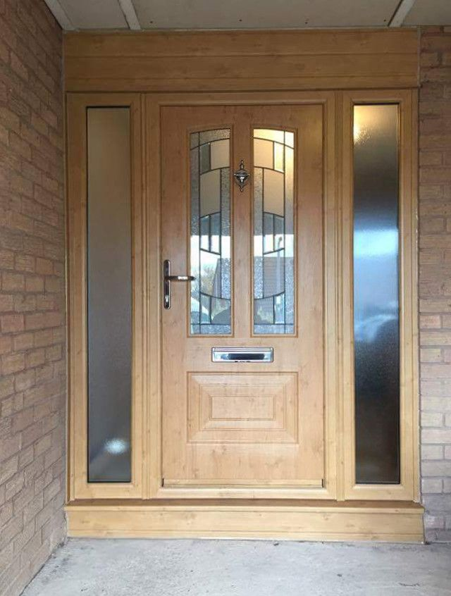 An Irish Oak Illinois With Inspire Glass Fitted With