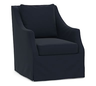 Awesome Avery Swivel Armchair Slipcover Products Swivel Armchair Lamtechconsult Wood Chair Design Ideas Lamtechconsultcom