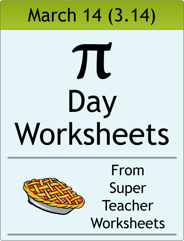 Math Worksheets pi math worksheets : March 14th (3.14) is International Pi Day! Celebrate in your ...